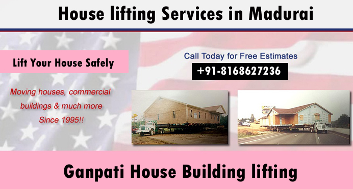 House lifting services in Madurai