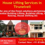 House lifting services in Tirunelveli
